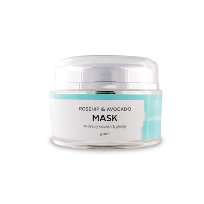 rosehip avocado mask